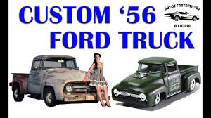 100 56 Ford Truck Custom Unboxing Analisis Resea 19 F100