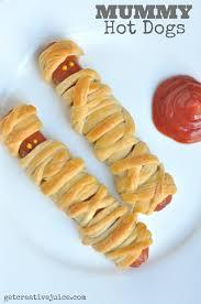 Halloween Hotdog Fingers by Easy Halloween Mummy Dogs For Kids
