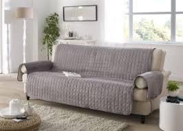 protege canape protège canapé 3 places gris amazon fr cuisine maison