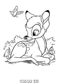 Bambi 40 Coloring Page You Will Love To Color A Nice Enjoy This For Free Print