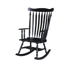 Shop Colonial Antique Black Rocking Chair - 28