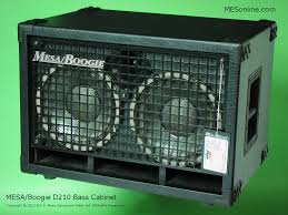 Mesa Boogie Cabinet Dimensions by Mesa Boogie D210 2 X 10 Bass Speaker Cabinet