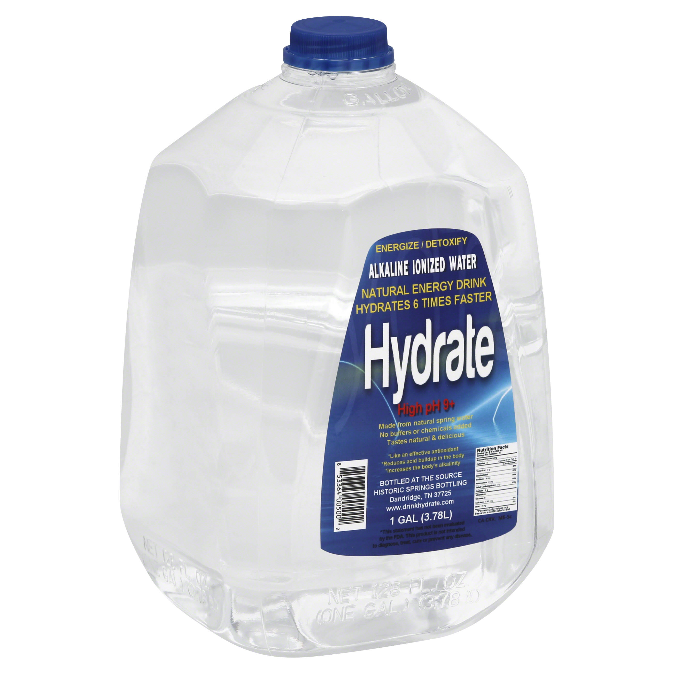 Daily Hydrating Hydrate High pH 9+ Water - 1 Gal