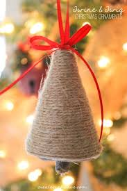Lovin The Rustic Look Of These Twine And Twig Christmas Ornaments Via Createcraftlove