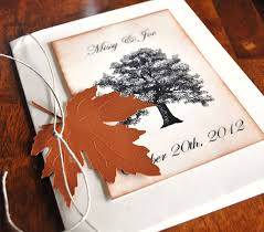 Fall Tree Bride Shower Invitations
