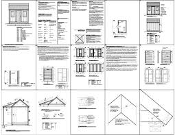 Free 8x8 Shed Plans Pdf by Shed Project Free Access 8x10 Shed Plans 8x8 Shed