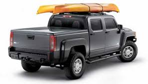 hummer h3t snuglid tonneau bed cover by snugtop hummer parts club