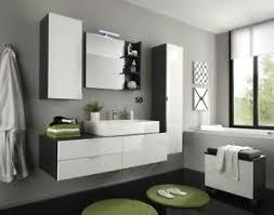 details zu badmöbel set modern mit waschbecken weiß hochglanz grau bad kombination 5 teilig