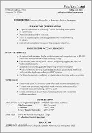 Assembly Line Worker Resume Lovely Administrative Examples 2016 Awesome Inventory Format