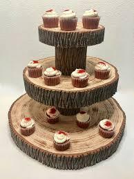 Styrofoam Cupcake Cakepops Cake Display Stand Holder Tower Birthday Macarons Rustic Wedding Riser