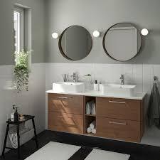 godmorgon tolken hörvik badeinrichtung 10 tlg gillburen eschenachb braun las marmoriert brogrund mischbatterie 142x49x72 cm