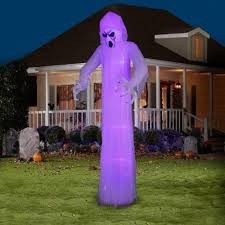 Halloween Blow Up Yard Decorations Canada by Amazon Com Gemmy Airblown Inflatable 12 U0027 X 4 U0027 Giant Black Light