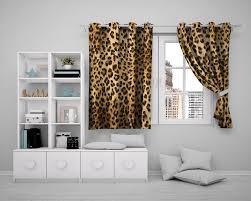 großhandel 3d vorhang 3d fenster wohnzimmer vorhang schöne leopard muster wohnzimmer schlafzimmer praktische 3d blackout vorhänge yimy820 30 04