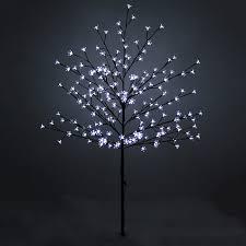 8ft Christmas Tree Ebay by Outdoor Blossom Tree Led Lights Led Lights Pre Lit Cherry Blossom