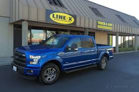 Reflex Bed Liner by Adding A Line X Spray On Bedliner 2015 Ford F 150 Long Term Road