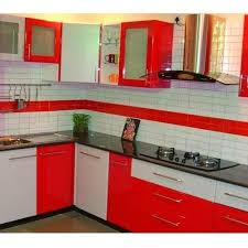 T Shaped Modular Kitchen Designer In Delhi