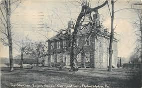 100 The Logan House Philadelphia PA Stenton Germantown1905 Rotograph