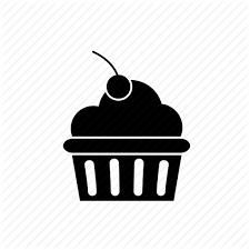 cake cherry cherry cake cupcake pastry sweet icon