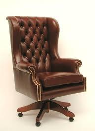 chaise de bureau chesterfield s duisant fauteuil de bureau cuir 69028 1533509 2 chaise design