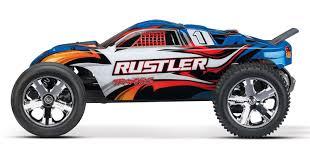 Traxxas Rustler 1/10 RTR Stadium Truck Blue – ZoneHobbies