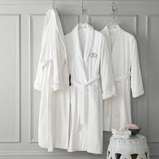 Chambers Hydrocotton Bath Robe White