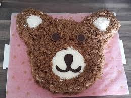 bärenkuchen zum kindergeburtstag