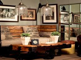 Furniture Pleasing Decor Ideas Interior Vintage Living Room Rustic Industrial