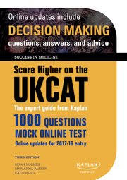 Oxford University Press Uk Exam Copy by Score Higher On The Ukcat Brian Holmes Marianna Parker Katie
