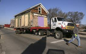 100 Linder Truck Leasing Old Flats Neighborhood Gone As Last Home Moved To Sixth Street SE