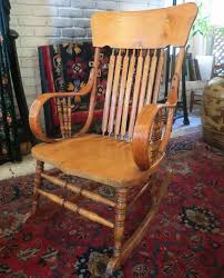 Antique Oak Bentwood Rocker / Rocking Chair   Random ... Pair Of Bentwood Armchairs By Jan Vanek For Up Zvody 1930s Antique Chairsgothic Chairsding Chairsfrench Fniture 1930s French Vintage Childs Rocking Chair Roberts Astley Anyone Know Anything About This Antique Rocking Chair Art Deco Rocking Chair Vintage Wicker Child Beautiful Intricate Detail White Rocker Nice Bana Original Fabric Great Cdition In Plymouth Devon Gumtree Wallace Nutting Turned Slatback Armed Thonet A Childs With Cane Designer Lee Woodard 595 Lula Bs Rare Fully Restored Bana Yeats Country