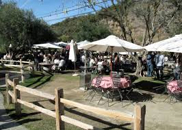 Rosenthal Wine Bar Patio by Cruising Malibu U0027s Wineries Wine Life In The Scv