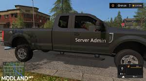 100 Ford Chief Truck 2017 F250 V 10 Mod Farming Simulator 17