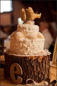 Image Of Rustic Wedding Cake Topper Ideas