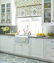 Grey Yellow Kitchen Curtains Decor And Gray Accessories
