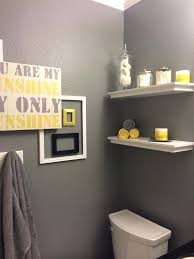 Yellow And Gray Bathroom Accessories by Gray And Yellow Bathroom Decor U2013 Selected Jewels Info
