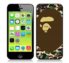 Bape iPhone 5 Case A Bathing Ape Camo Cases & Co Amazon