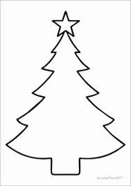 FREE Christmas Tree Template Mas