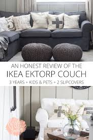 An Honest Review Of The Ikea Ektorp Couch After 3 Years Fniture Ikea Slipcovers To Give Your Room Fresh New Look The Dense Cotton Ektorp Chair Cover Replacement Is Custom Made For Ikea Armchair A One Seat Sofa Slipcover Heavy Nyc Apartment Autumn Design Updates Bemz Sderhamn My Honest Review Of Ikeas And Ektorp Cover Lofallet Beige Why I Love White Slipcovered Ding Chairs House Full Tullsta Nordvalla Medium Grey Liz Marie Blog Sparkles Im Back Sharing Another Favorite Today Oh My Goodness