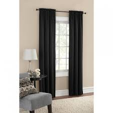 No Drill Curtain Rods Home Depot by French Door Curtain Diy Curtains Rod Pocket Panel Red Sheers