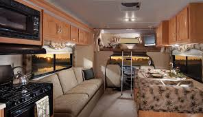 Class C Motorhome Rental Freelander Seating Source Rv Interior Ideas