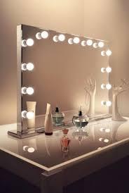 mirrors mirror with lights makeup vanity