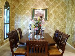 Modern Ideas Dining Room Wallpaper For Large And Beautiful Photos Photo