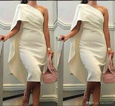 2017 short cheap women cocktail dresses one shoulder sheath prom