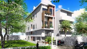 100 Narrow House Designs Lot Modern Plans 44 X 20 Meter SamPhoas Plan