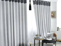 White And Gray Striped Curtains by Curtains Black And Grey Large Size Of Coffee Gray Grommet Curtains
