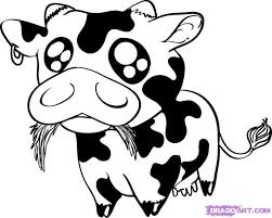 Medium Size Of Coloring Pagecow Cartoon Drawing 1376475538 Page Cow