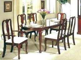 Full Size Of Queen Anne Dining Room Table And Chairs Thomasville Cherry For Sale Tables Hollow