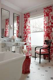 Top 76 Marvelous Decorative Red Bathroom Window Curtains Curtain ... Splendid Black And White Bathroom Window Treatments Coverings Lowes Top 76 Brilliant How You Can Make Classy Romantic Curtains Ideas Paris Themed Shower Curtain Colors Stunning Vinyl A Creative Mom Bath For Windows House Home Sale Small Master In Door Cover Sink Waterproof All About House Design Unique 50 Inside 19 Window Coverings For Bathrooms Innovative Covering 29 Most Fantastic Furnishing Seal Treatment The Shade Store