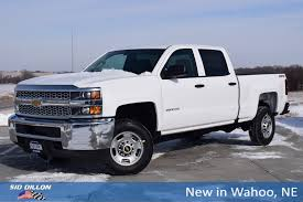 100 Cng Pickup Trucks For Sale New 2019 Chevrolet Silverado 2500HD Work Truck Crew Cab In Wahoo