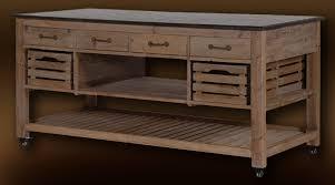 table de cuisine vintage table ilot central de cuisine avec plateau en marbre